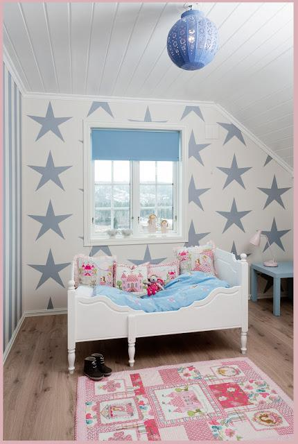 A girl and a boy sharing a kids' room