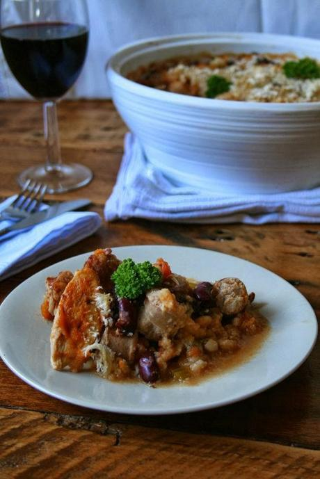 Chicken & Sausage Cassoulet: The I Made It Challenge
