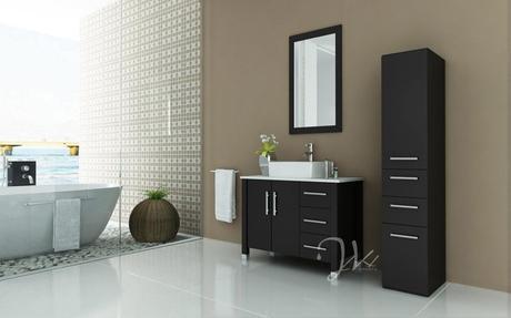 An Exemplary Modern Bathroom Makeover And How You Can Update Your - Modern bathroom makeovers