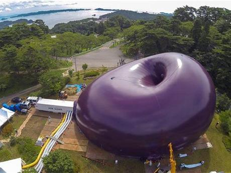 World s first inflatable concert hall is like a giant for Ark nova concert hall