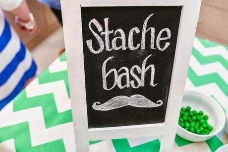 Super Cute Moustache Themed Baby Shower Quot A Stache Bash