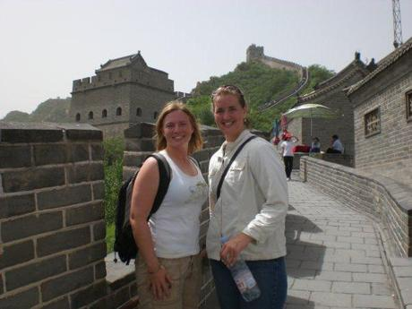 Sisters on the Great Wall (c) KC Saling, 2008