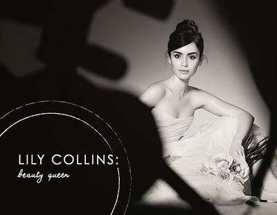 Lily Collins' Eyebrows Sign On To Lancome
