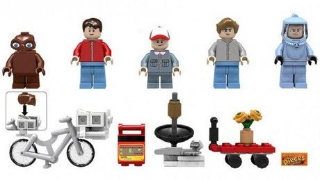 Make Your Own Alien Story with E.T. LEGO Set - Paperblog