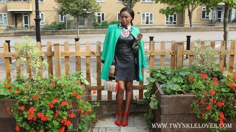 Today I'm Wearing: The Leather Dress (Look 3)
