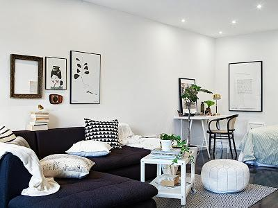 Eclectic Mix of Furnishing - Swedish Inspiration ♥