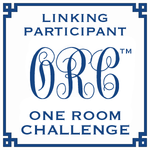 Linking participant in the One room challenge. Guest room for the college student