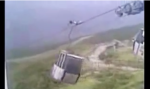 Gondola in wind