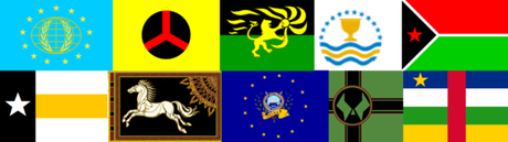 First to name these 10 Flags wins -- click to enlarge