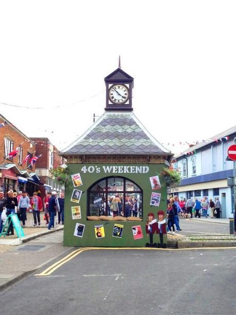 sheringham norfolk 40's weekend clock tower wartime recreation