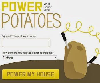 How Many Potatoes Does It Take To Power Your House?