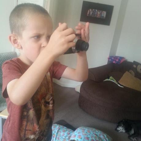 Little Mr A Captures the Colour #KIDSCTC