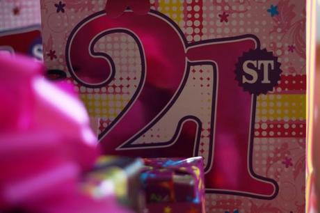 my 21st birthday paperblog