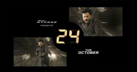 Anil Kapoor starrer 24 Started in India