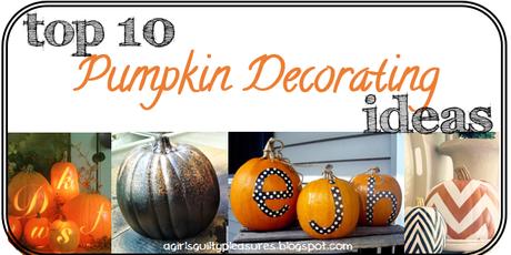 10 Ways to Spice Up Your Halloween Pumpkins!