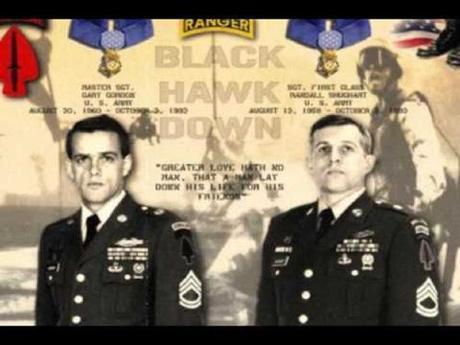Gary Gordon and Randy Shughart