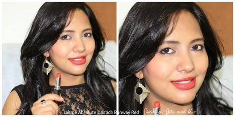 Lakme Absolute Creme Lisptick Runway Red