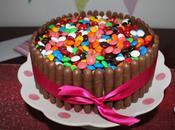 {Recipe} M&m; Cake