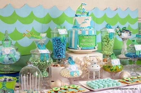A Sea Themed Birthday by Candy Queen