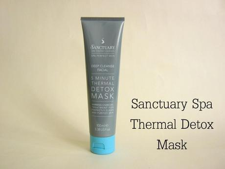 Sanctuary Spa - 5 Minute Thermal Detox Mask