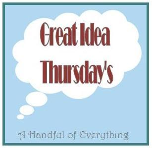 Great Idea Thursday's - 25