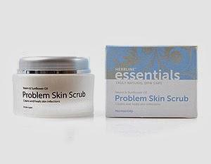 Tried & Tested: Herbline Essentials problem Skin Scrub