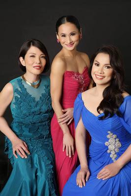 Lea Salonga, Cecile Licad and Lisa Macuja-Elizalde reunite in The Legends and the Classics Encore