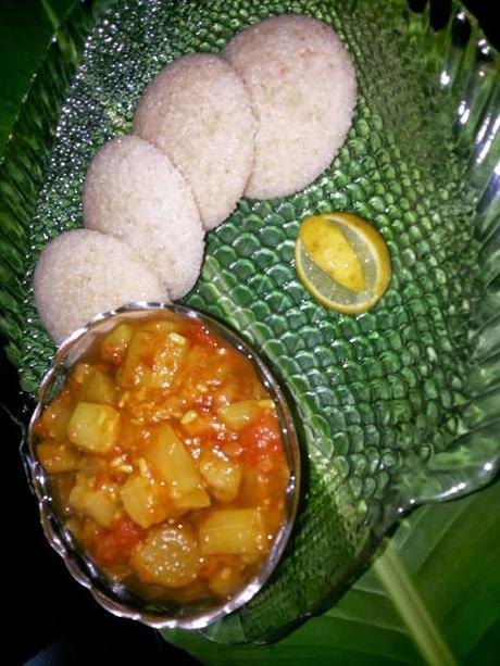 Samak Rice Idli Meals for Navratri and fasting
