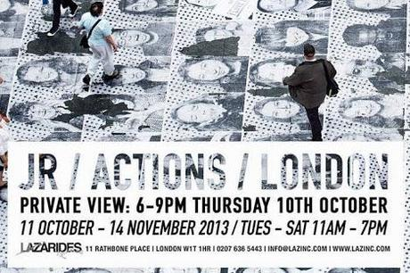 JR Actions Exhibition London