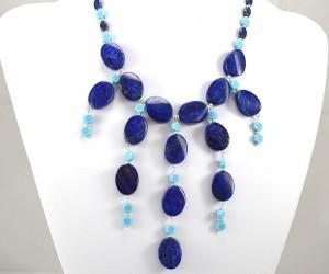 photo bluebells lapis necklace