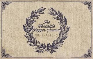 {The Versatile Blogger Award}