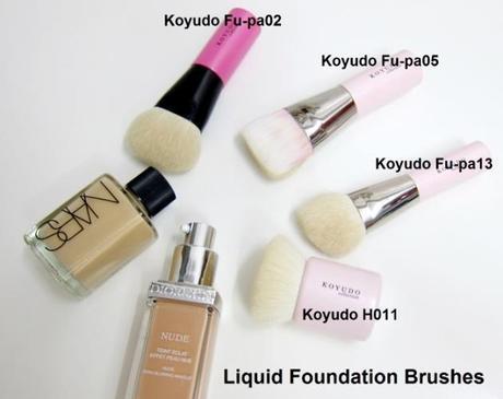 Liquid Foundation Brushes