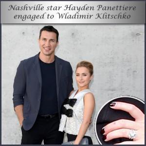 Nashville Star Hayden Panettiere Engaged To Wladimir Klitschko
