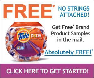 Get FREE Tide Pod Samples by Mail! - Paperblog