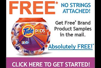 get free tide pod samples by mail paperblog