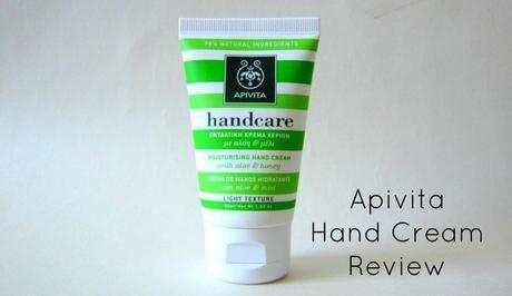 Apivita Aloe and Honey Hand Cream