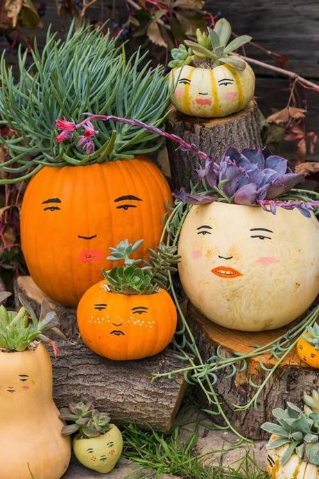 Make a pumpkin family