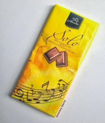 Review: Amadeo Solo - Milk Chocolate with Banana Filling
