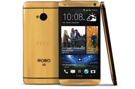 HTC One in 18-carat Gold