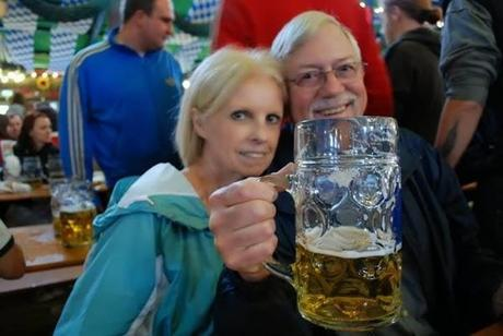 Bought My Dad a Beer at Oktoberfest!