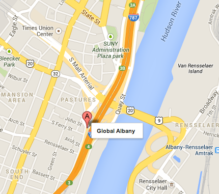 Albany, NY Global Partners Facility; Image Credit: Google Maps