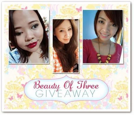 Beauty of Three Giveaway~