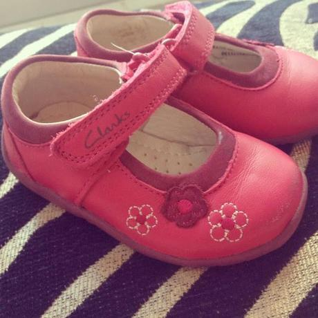 Sienna's first shoes!