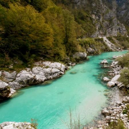 Soca River in Triglav