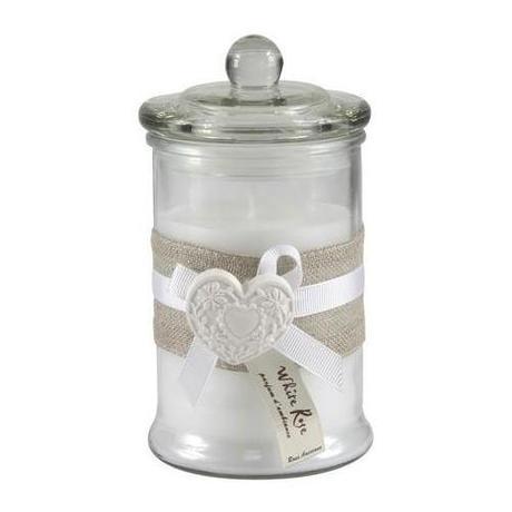 Classique Collection Glass Wax Filled Jar | Dunelm