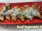 Sooji Vegetable Toast Semolina Bread