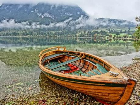 HDR Photo at Bohinj Lake
