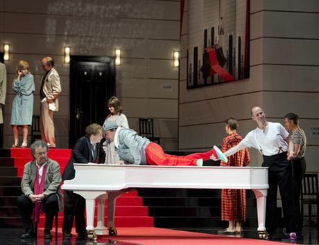 Lieben, hassen, hoffen, zagen: Ariadne auf Naxos in Frankfurt