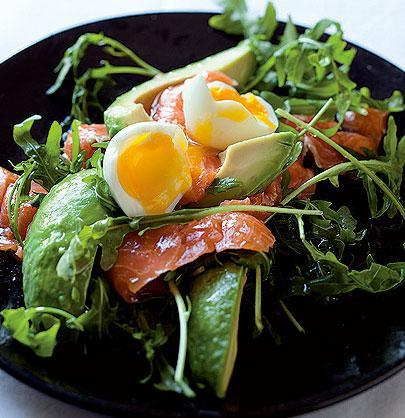 Salmon-and-avo-with-soft-boiled-eggs