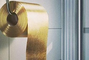 World S Most Expensive Toilet Paper Made Of Gold Paperblog